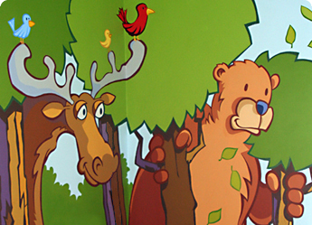 lello murals - hand painted murals for kids rooms, toddlers rooms and baby nursaries.