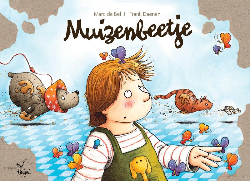 Frank Daenen's children's book, Muizenbeetje