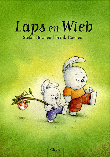 Frank Daenen's children's book, Laps En Wieb